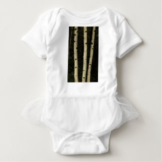Three Pillars Of The Forest Baby Bodysuit