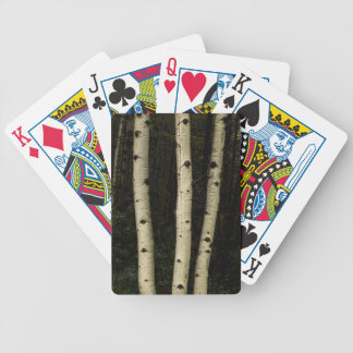 Three Pillars Of The Forest Bicycle Playing Cards