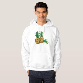 three pineapples fruit hoodie