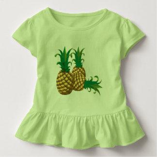 three pineapples fruit toddler t-shirt