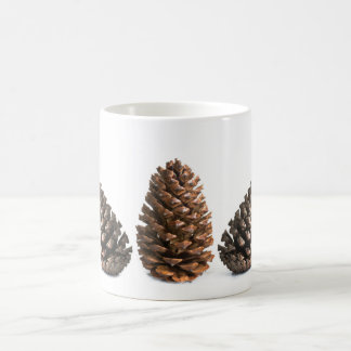 Three pinecones coffee mug