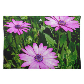 Three Pink Daisy Flowers Placemat