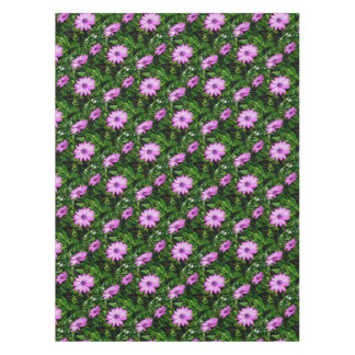 Three Pink Daisy Flowers Tablecloth