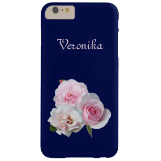 Three pink roses. barely there iPhone 6 plus case