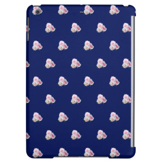 Three pink roses. Floral pattern. iPad Air Case