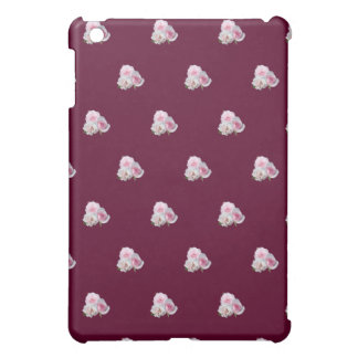 Three pink roses. Floral pattern. iPad Mini Covers