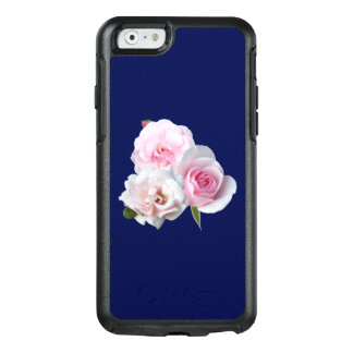 Three pink roses. OtterBox iPhone 6/6s case