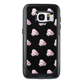 Three pink roses. OtterBox samsung galaxy s7 edge case