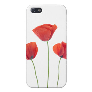 Three poppies iPhone 5 covers