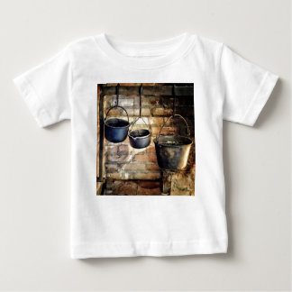 Three Pots in Colonial Kitchen Baby T-Shirt