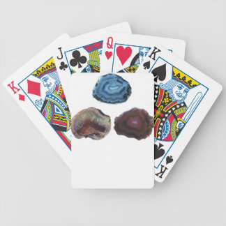 Three Pretty Rocks Bicycle Playing Cards