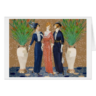 Three Proper Ladies Card