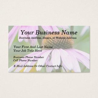 Three Purple Coneflowers Business Card