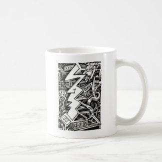 Three Quarter Coffee Mug