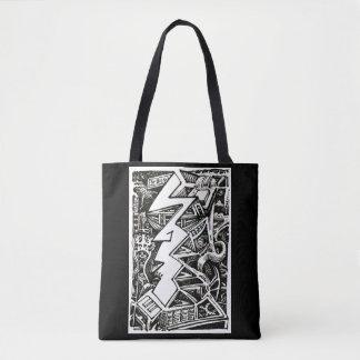 Three Quarter Tote Bag