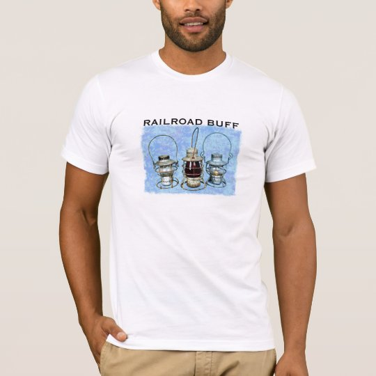 Three Railroad Lanterns T-Shirt