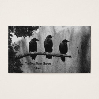 Three Ravens Business Card