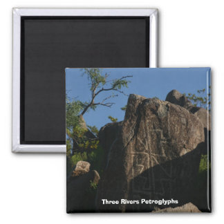 Three Rivers Petroglyphs Magnet