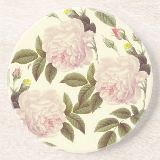 Three Rose Cream Coaster