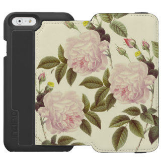Three Rose Cream Incipio Watson™ iPhone 6 Wallet Case