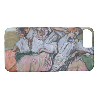 Three Russian Dancers by Edgar Degas iPhone 7 Case