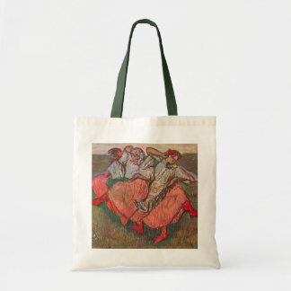 Three Russian Dancers by Edgar Degas Tote Bag