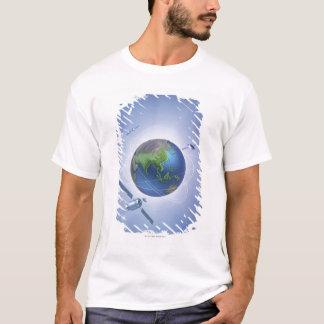 Three Satellites T-Shirt
