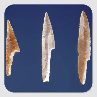 Three serrated points, from Volgu Square Sticker