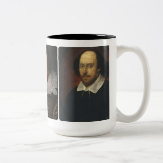 Three Shakespeare Portraits Mug