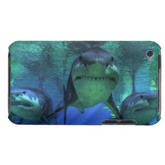 Three Sharks iPod Case-Mate Case