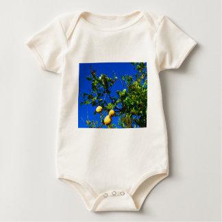 Three Sicilian Lemons Baby Bodysuit