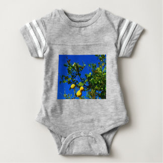 Three Sicilian Lemons Baby Bodysuit