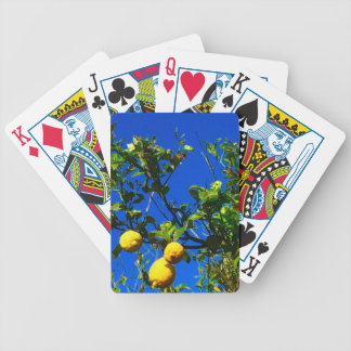 Three Sicilian Lemons Bicycle Playing Cards