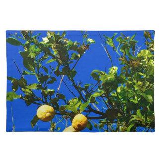 Three Sicilian Lemons Placemat