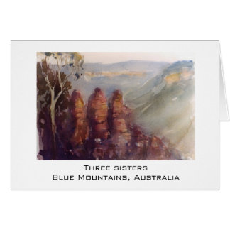 Three sisters, Blue Mountains Card