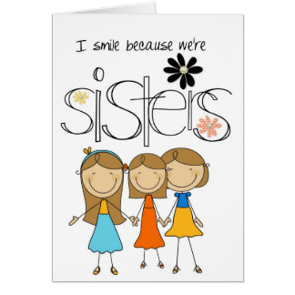 Three Sisters Card