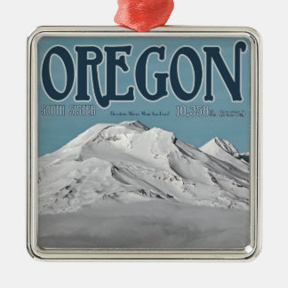 Three Sisters from Bachelor Bowl Metal Ornament