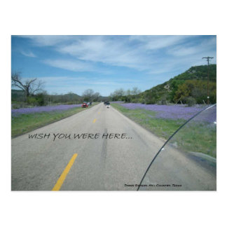 Three Sisters, Hill Country, Texas - Wish You Were Postcard