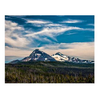Three Sisters, Oregon Postcard