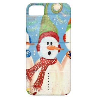 Three Snowmen iPhone 5 Covers