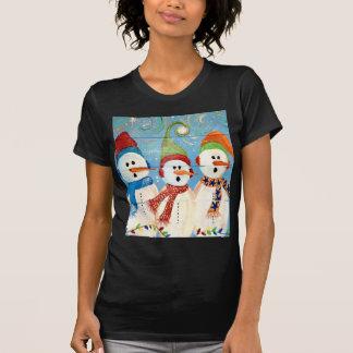 Three Snowmen T-Shirt