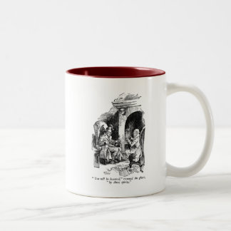 Three Spirits (with text) Mug