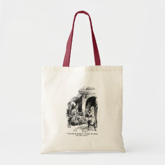 Three Spirits (with text) Tote Bags