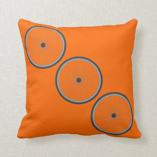 """Three Spokes"" Pillow"