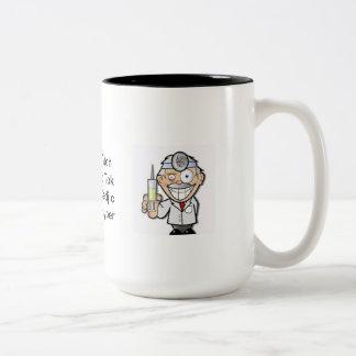 Three Springs Mental Asylum Two-Tone Coffee Mug