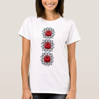 Three Stacked Rubies T-Shirt
