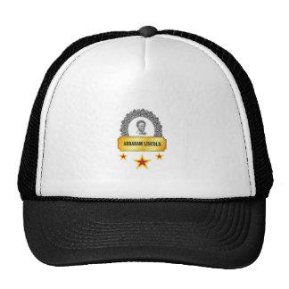 three star lincoln trucker hat