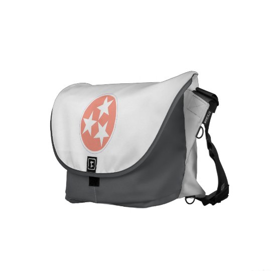 Three Star Tennessee State Messenger Bag