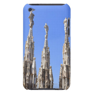 Three statues towers on the Duomo of Milan iPod Touch Covers