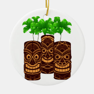 Three Strong Ceramic Ornament